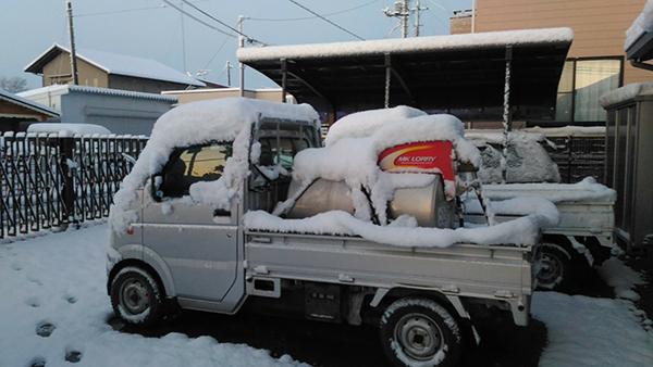 埼玉県北部は大雪になりました