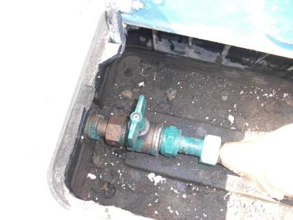 水道メーター元栓